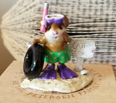 Wee Forest Folk M-293  Catfish Cove  SPECIAL EDITION Mole Hole 2005  Mint
