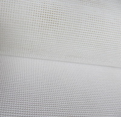 Interlock Mono Tapestry Canvas 10 count  Zweigart 50 x 100cm needlepoint- white