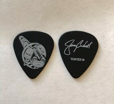 ALICE IN CHAINS Jerry Cantrell 2018 Custom Tour Issue Signature Guitar Pick Live