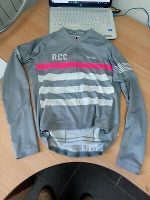 Rapha RCC pro team mid weight long sleeved jersey . Genuine. £140 rrp