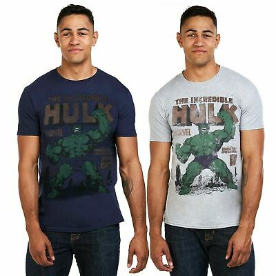 The Incredible Hulk Rage Men's T-Shirt - Sizes S-XXL - Official Licensed Marvel