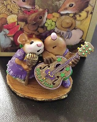 Wee Forest Folk MMO-1 Stand By Your Mole  WTCA SPECIAL Purple 2006 NEW