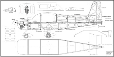 Giant  1//5 Scale Grumman F7F Tigercat Plans and Templates 123ws