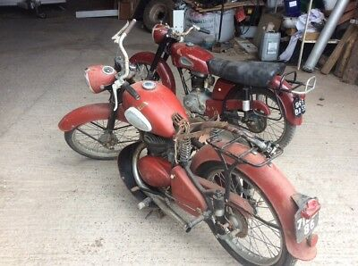 Two french classic motorcycles