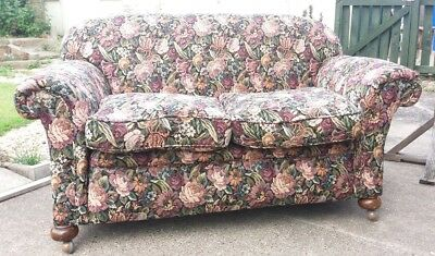 EARLY 20th CENTURY DROP ARM 2 SEATER SETTEE