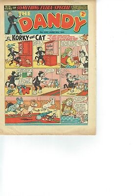 Dandy Comic From 1951 No 498