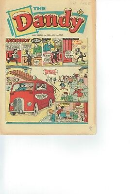 (New Year) Dandy Comic From 1965 No 1206