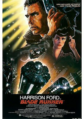 Blade Runner - Harrison Ford - A4 Laminated Mini Movie Poster