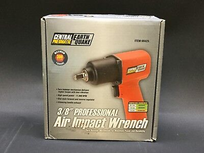 """Central Pneumatic Earthquake Air Impact Wrench - 3/8"""" (68425)"""