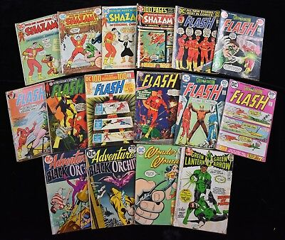 1970s DC Comic Books Lot Shazam The Flash Wonder Women Green Lantern (16)