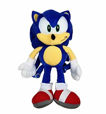 "18"" Sonic the Hedgehog Kids Toddler Safety Plush Backpack Bag Licensed Product"