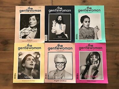 Complete Collection of The Gentlewoman Magazine Issues 1 to 18 Inclusive