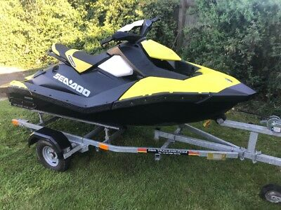 Seadoo Spark 2Up 160Hours Yellow/black