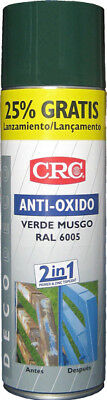 Spray antioxido CRC verde ral 6005 500 ml