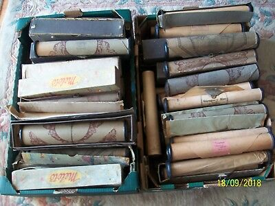 large selection vintage/antique pianola rolls
