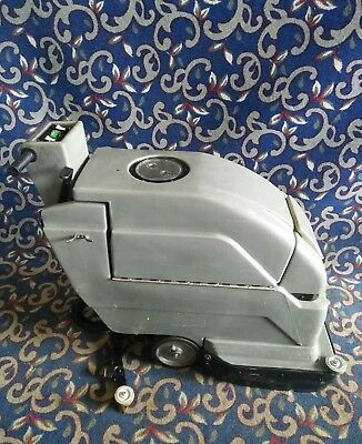 "Tennant Nobles SpeedScrub 2001 20"" floor scrubber NEW batteries & FREE shipping!"
