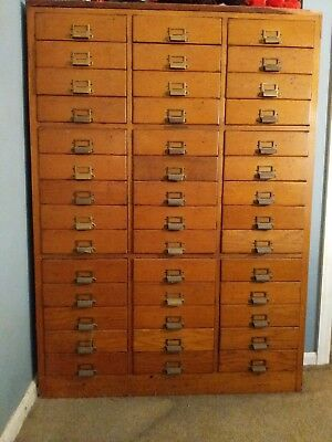 Antique library cabinet
