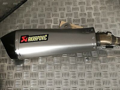 Akrapovic Sportauspuff Tiger 800 Slip-on
