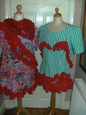 Pantomime Dame Costumes X 2  Theatre Show Stage Dress Theatrical