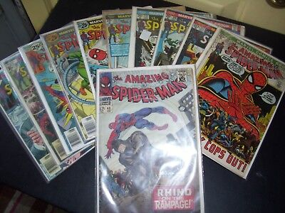 The Amazing Spiderman Bronze Age Lot Of 21