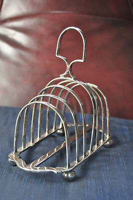 Vintage Toast Rack Dates back to 1861 Room for six Slices of Toast.