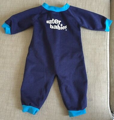 Water Babies Wetsuit 6-12 Months New Condition