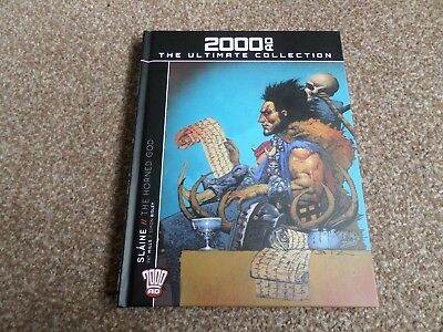 Slaine: The Horned God (2000AD: The Ultimate Collection Hardback Graphic Novel)