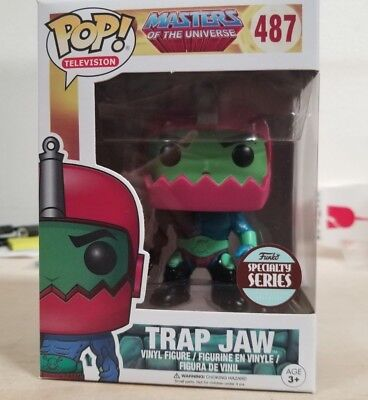 Funko Pop Masters Of The Universe Trap Jaw #487 Specialty Series In Hand