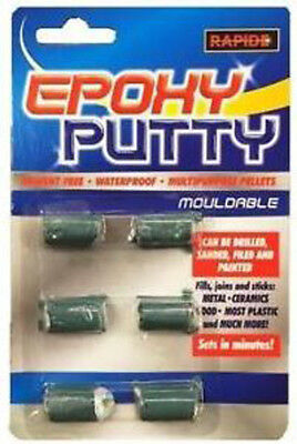 Epoxy Putty Waterproof Mouldable Repair Fill Multi Purpose Wood Metal Plastic