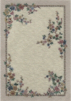 """1:48 Scale Dollhouse Area Rug 0000735 - approximately 2-1/16"""" x 3"""""""