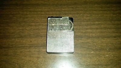 Vintage Bulova AM Transistor Radio Rare Tiny Pocket Model Japan