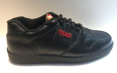 Texaco Steel Toe Leather Safety Shoes Size 10.5 Athletic Style New