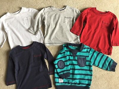 Bundle All NEXT Baby Boys Long Sleeved Tops 6-9 Months