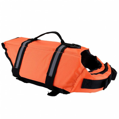 Dogs Life Jackets Floatation Vest Swimming Pet Reflective Saver Preserver Safe