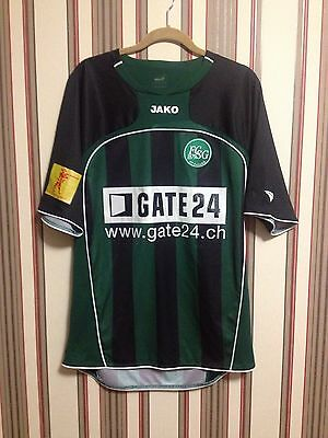 FC St. GALLEN 2008/10 Switzerland JAKO soccer football shirt jersey men's M-L