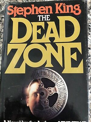 *signed* Near Fine 1St/1St Edition~ The Dead Zone ~ Stephen King
