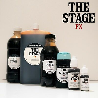 The Stage FX Fake Blood MANY SIZES Mouth Safe Edible Halloween Zombie Vampire