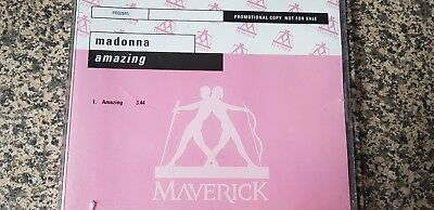 Madonna.. Very  Rare Promo  Cd. Amazing .never Released 7 Inch Single .mint.