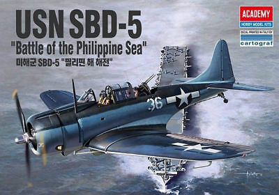 "12329 1/48 ACADEMY USN SBD - 5 ""Battle of the Philippine Sea"""