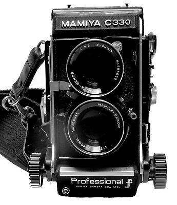 Mamiya C330 Professional F, Twin Lens Reflex, Medium Format, w/80mm, f2.8 lens