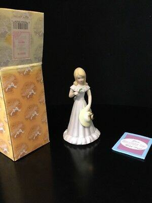 Enesco Growing up Girls age 12 #12 12th Blond Figurine NEW MIB