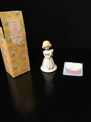 Growing up Girls from Enesco Blonde Age 5 Figurine 4 IN New IN BOX Free Shipping