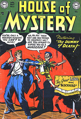 House Of Mystery - The Complete Dvd Rom Collection (All 323 Issues}