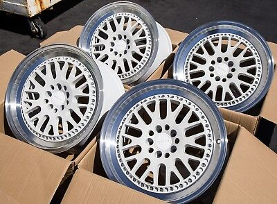 17X9 +42 Rota Flush 5X100 White Wheels ( Open Boxs) Fit Corolla Celica Neon Srt4