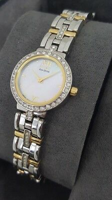 Citizen Eco Drive Silhouette EW9124-55D Women's 22mm MOP Dial +Crystal Watch