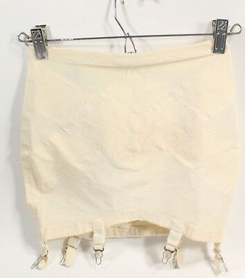 VTG 70s Montgomery Ward Shapewear Open Bottom Power Mesh Antron III Girdle M