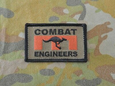 Iraq Afghanistan OD COMBAT ENGINEERS patch