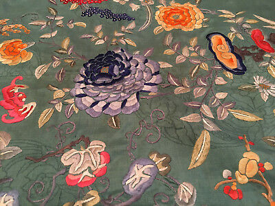 Three Large Vintage Chinese Textile Covers.