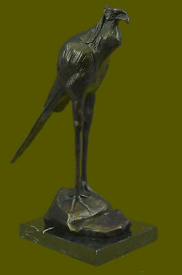 Bronze Bird by Rembrandt Bugatti - Marabou Stork - signed Sculpture Home Decor