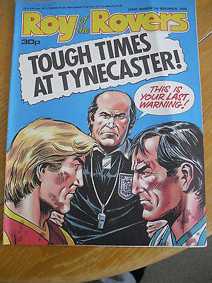 Roy Of The Rovers Comic Magazine 5 November 1988 Football Interest Vgc